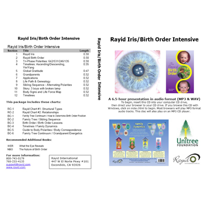 Rayid Iris Birth Order Intensive